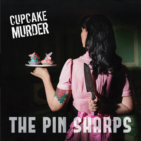 The Pin Sharps CD-Cover Design