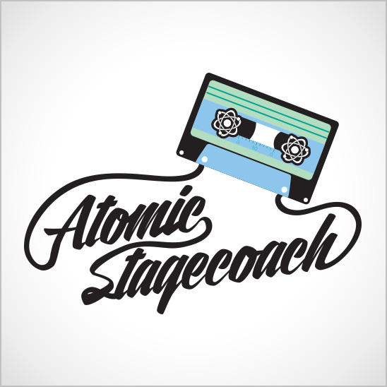 Atomic Stagecoach Logo-Design